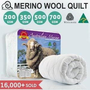 低至2折   500GSM Double款$64Merino Wool 澳洲正宗羊毛被 多size可选