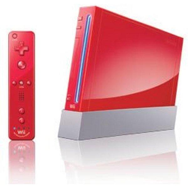 Wii 红色 翻新