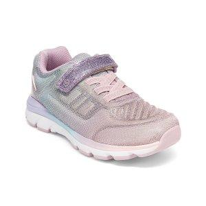Stride RitePink & Purple Pastel Glitter Made2Play® Cora Sneaker - Girls