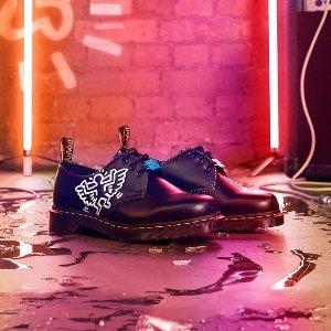 €151收封面同款Dr. Martens X Keith Haring 神仙联名正式发售 收涂鸦风马丁靴