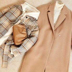 低至3.5折 $17收荷叶袖毛衣上新:H&M 秋冬毛衣大衣专场 $18收针织毛衣