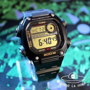 8.4折 41.99(原价$49.99)Casio 10年电池石英树脂表带手表 为探险保驾护航