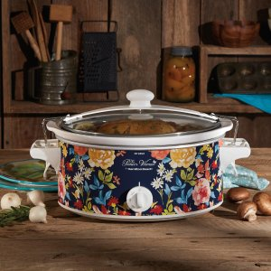 The Pioneer Woman 6-Quart Portable Slow Cooker