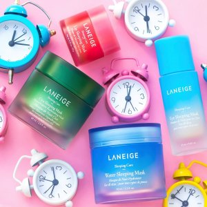 Free Mystery Gift SetLaneige Skincare Shopping Event