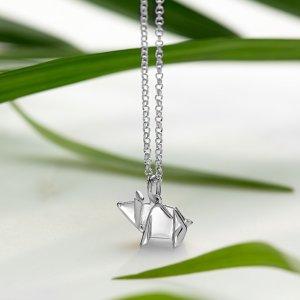 Lily charmed小银猪项链