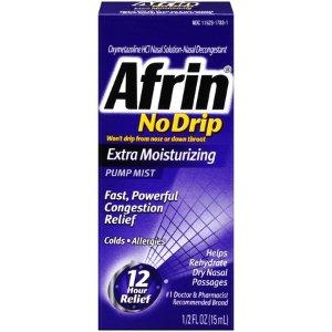 $5.96Afrin No-Drip Extra 通鼻喷雾 15ml