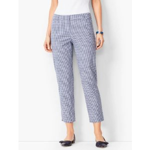 TalbotsBuy 2 get 70% off  price after promotionPerfect Crops - Gingham