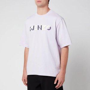 Kenzo香芋紫logoT恤