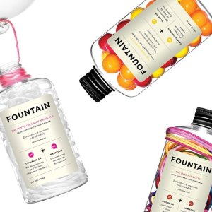 满$75减$10+送3个中样加拿大Fountain 美容营养保健品特价 美白保湿喝出来