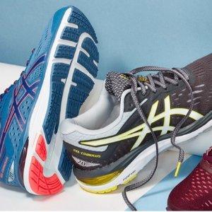 低至4折  $40起ASICS 男女跑鞋促销 多款多色可选