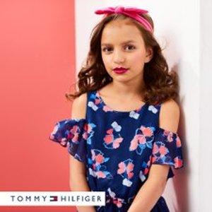 低至$11.99最后一天:Tommy Hilfiger 儿童服饰特卖