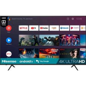 "$749.99Hisense 75"" H6510G 4K HDR Android TV 智能电视"