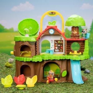 送价值$9.95动物公仔套装Timber Tots 超萌过家家玩具促销 媲美森贝尔家族