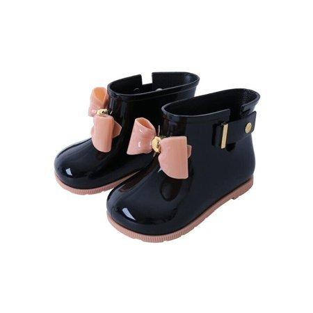 可爱果冻雨靴