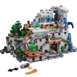 $199.99(原价$269.95) Minecraft系列有史以来最庞大的Set史低价:LEGO Minecraft 我的世界系列 超壮观山洞 21137 好价快入