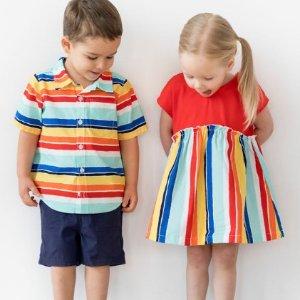 5折起+新用户额外8折Hanna andersson 春款童装促销区特卖 几百件新款加入