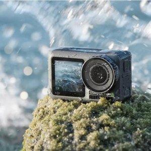 5.2折起 低至€199可收DJI 大疆运动相机限时促 前后双彩屏、4K视频录制、超强增稳