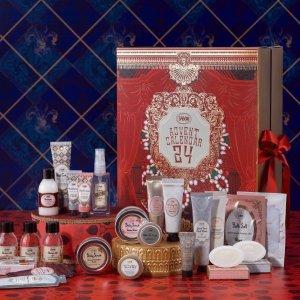 售价€89(价值€180+)Sabon 2020圣诞日历上市 磨砂膏、香氛、护手霜一次集齐