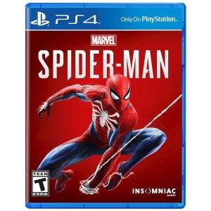 $29.99 (原价$59.99)《漫威蜘蛛侠》PS4实体游戏