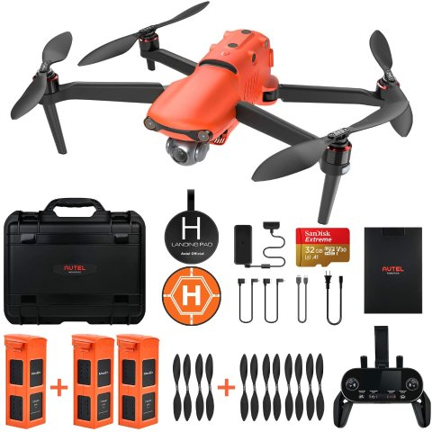 Autel Robotics EVO 2 Drone 8K HDR Video Rugged Bundle