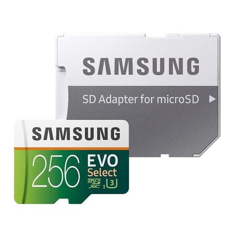 Samsung EVO Select 256GB microSDXC Memory Card