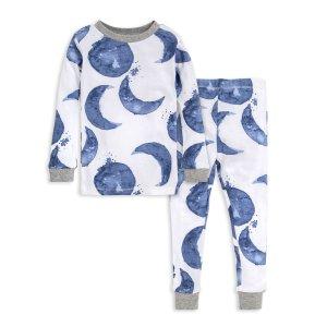 Burt's Bees BabyHello Moon! Snug Fit Organic Toddler Pajamas