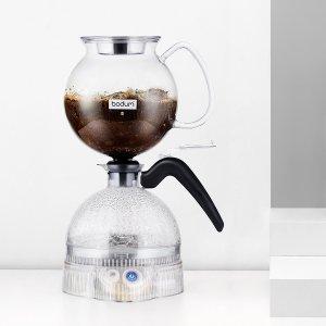 5折 $124.95(原价$249.99)Bodum 虹吸式咖啡壶 咖啡更加浓郁 让煮咖啡变成有趣的事
