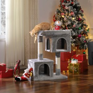 $79.99(原价$87.09)Feandrea 猫树特价 精心制作 给猫猫一个舒适的小窝