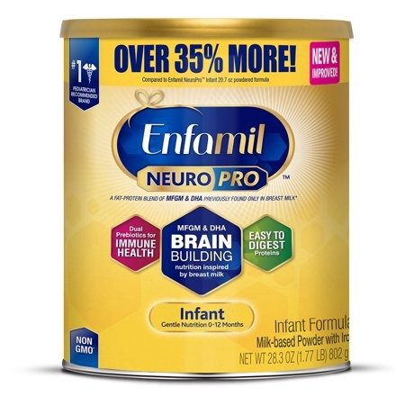 NeuroPro 婴儿奶粉, 28.3 oz 加量装