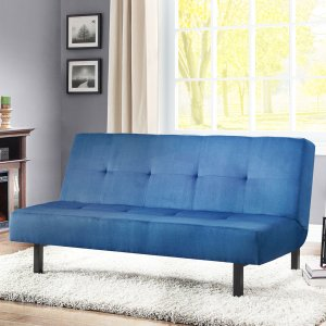 $85.5Mainstays 布艺沙发床 多色可选
