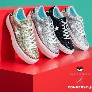 新品发售Converse x Chiara Ferragni 联名系列,帆布鞋配大眼睛