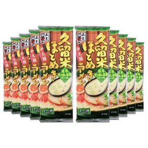 $9 / RMB62五木斋宫 久留米特浓豚骨汤拉面 葱香汤料123g×10袋