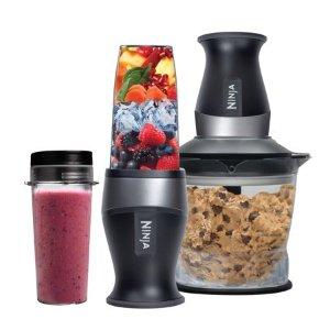 $42再降:Ninja Nutri 2合1多功能食物粉碎搅拌机