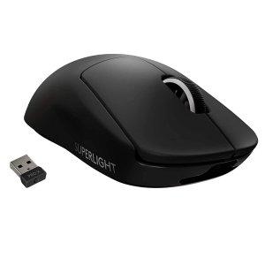 黑色现货$$278 仅重63gLogitech G PRO X SUPERLIGHT 无线鼠标