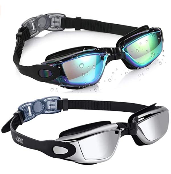 防紫外线、防雾游泳镜