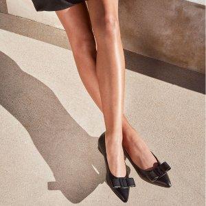 无门槛7折+包税最后一天:TESSABIT 秋冬时尚专区,菲拉格慕蝴蝶结鞋$387起 码全
