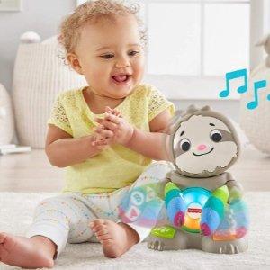 低至3折  彩虹圈叠叠乐$2.4限今天:Fisher-Price 费雪玩具一日热卖