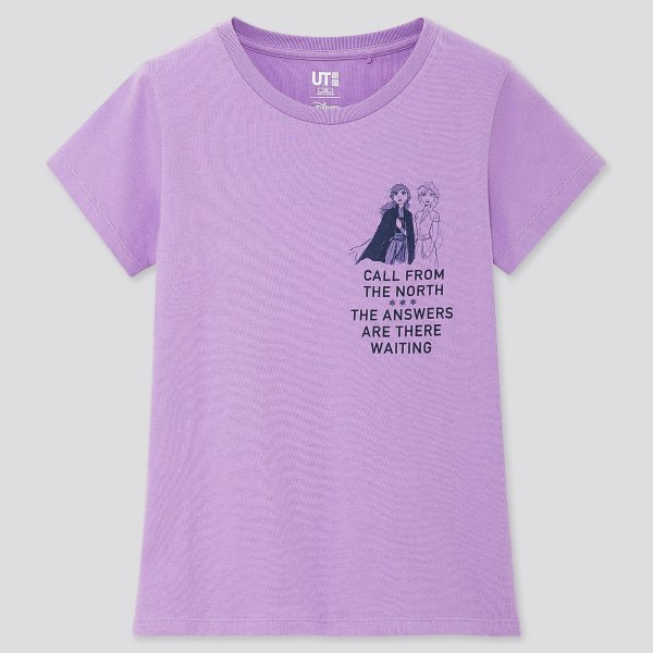 儿童FROZEN 2合作T恤
