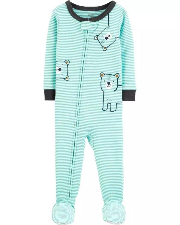 婴儿小熊连体衣