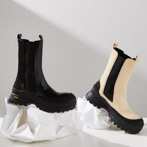 5折起 £205收by FAR踝靴Harvey Nichols 爆款美靴大促 收杨幂同款PS马丁靴