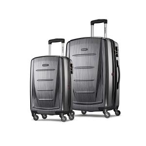 到手史低¥1080补货:新秀丽 Winfield 2 20寸+28寸 行李箱2件套
