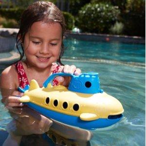 现价$9.49(原价$19)Green Toys 儿童潜水艇玩具,夏季游泳池、洗澡必备