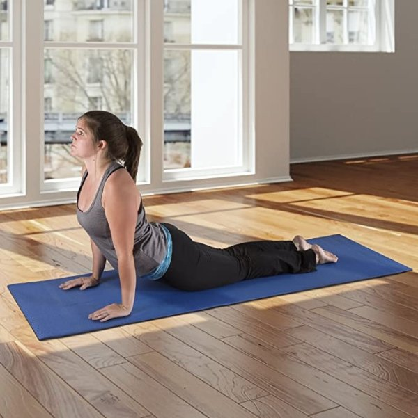 Wakeman家用防滑健身瑜伽垫