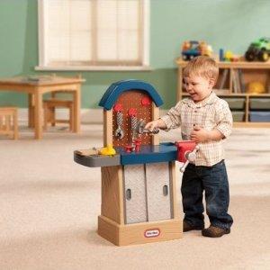 $22.88(原价$39.49)小泰克儿童玩具工作台 敲敲扭扭动手乐趣多