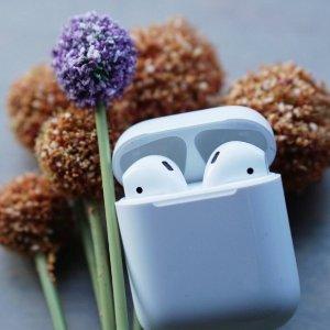 现价 £127.2(原价£159)黒五价:Apple AirPods 无线蓝牙耳机 特卖