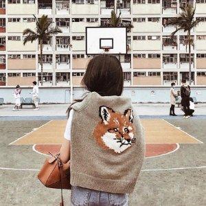 无门槛8.5折 狐狸卫衣$147收Maison Kitsune 小狐狸美衣、有范儿购物袋、配饰热卖