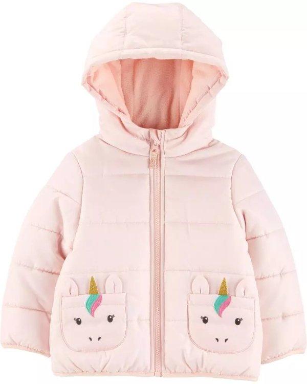 婴儿独角兽保暖外套