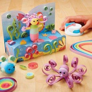 $5起 封面3D折纸$12Plushible 手工拼图/STEM玩具大促 小手小脑瓜都动起来