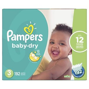 PampersDiapers Size 3 - Pampers Baby Dry 纸尿裤