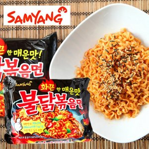 5包装 $14.37Samyang  三养超辣火鸡面,一碗让你欲罢不能的方便面